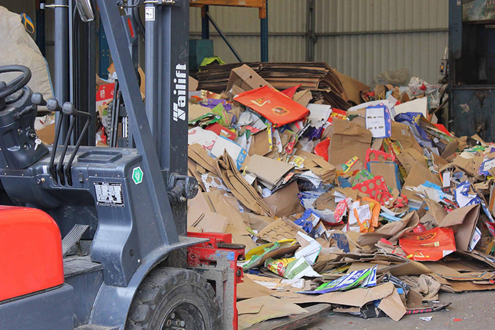 skup odpadów